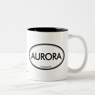 Aurora, Colorado Two-Tone Coffee Mug