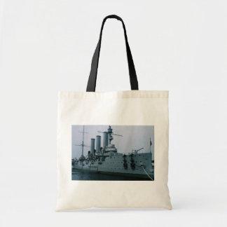 Aurora cruiser, St. Petersburg, Russia Canvas Bags