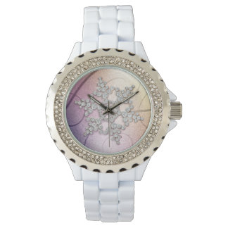 Aurora Crystal Snowflake Winter Watch