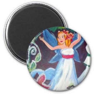 Aurora faery winter - Magnet