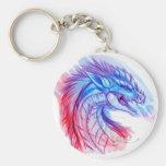 Aurora Ice dragon Keychain