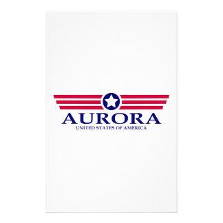 Aurora IL Pride Customised Stationery