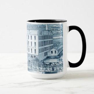 Aurora Illinois Woolen Mills 1871 Mug
