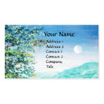 AURORA / MAGIC TREE, green, blue Pack Of Standard Business Cards