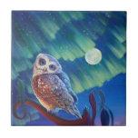 Aurora Owl Ceramic Tiles