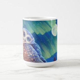 Aurora Owl Coffee Mug