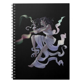 Aurora Weaver Fairy Magical Spiral-Bound Notebook