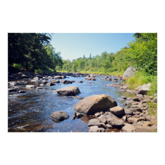 AuSable River in the Adirondacks. print 08 305
