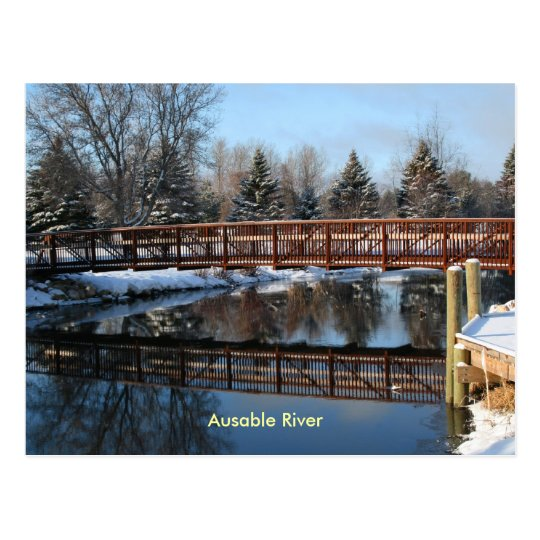 Ausable River Postcard