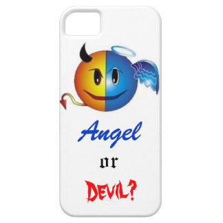 Ausome Devil and Angel iPhone case Barely There iPhone 5 Case