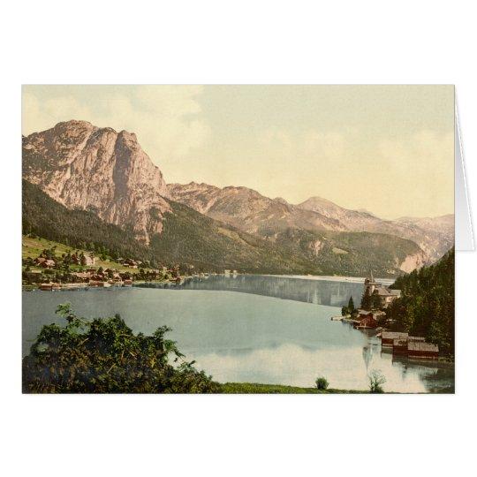 Aussee, Grundlsee, Austria Card