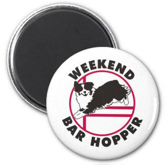 Aussie Agility Weekend Bar Hopper Fridge Magnet