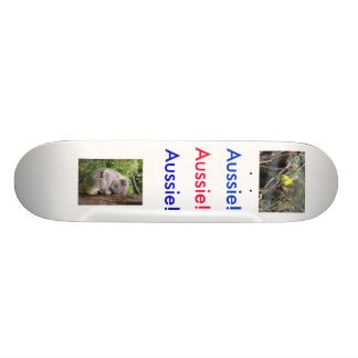 Aussie Animals skateboard.