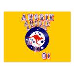 Aussie Aussie Aussie Oi Oi Oi Post Cards