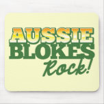 Aussie Blokes Rock! Mousepads
