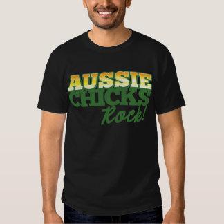 Aussie Chicks ROCK! Shirt