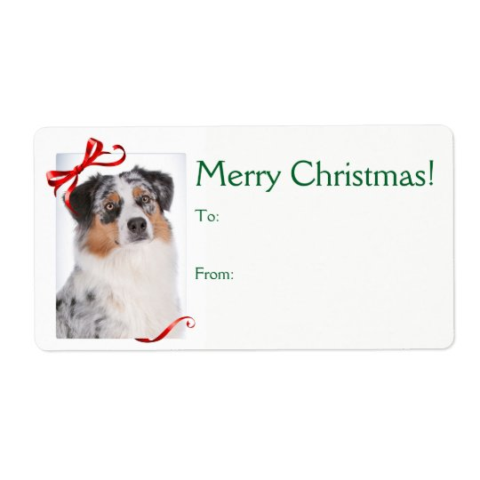 Aussie Christmas Gift Tags
