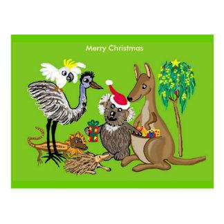Aussie Christmas Postcard