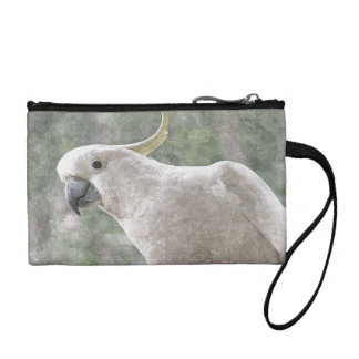Aussie Cockatoo Key Coin Clutch Coin Wallets