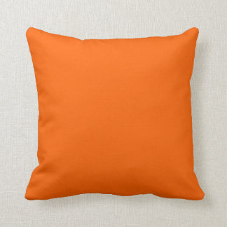 Aussie Colours - Green & Orange Throw Pillow