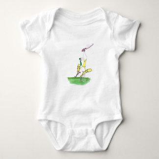 aussie cricket nutmeg, tony fernandes baby bodysuit