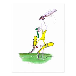 aussie cricket nutmeg, tony fernandes postcard