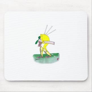 aussie cricketer out for nought, tony fernandes mouse mat
