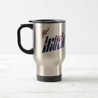 Aussie Dimensional Logo, Car Travel Mug