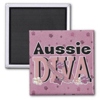Aussie DIVA Refrigerator Magnets
