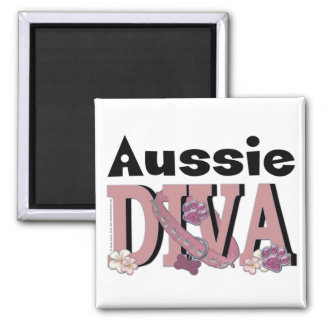 Aussie DIVA Fridge Magnets