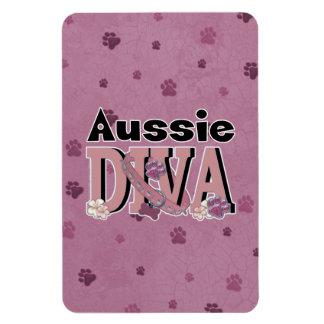 Aussie DIVA Vinyl Magnet