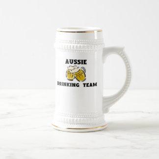 Aussie Drinking Team Stein