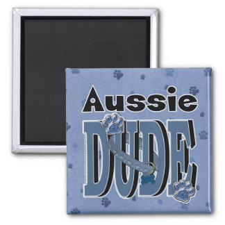Aussie DUDE Refrigerator Magnet