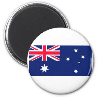 AUSSIE FLAG 6 CM ROUND MAGNET
