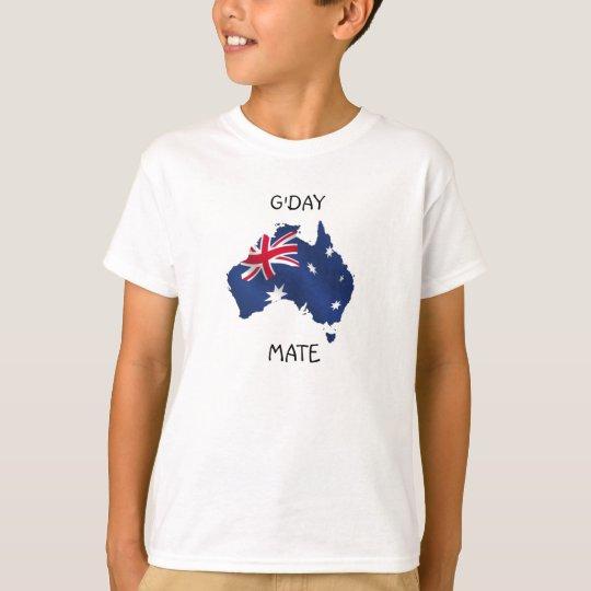 Aussie Flag Kids T-Shirt