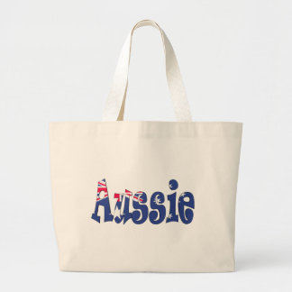 Aussie Flag Large Tote Bag