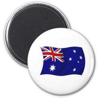 Aussie flag fridge magnets