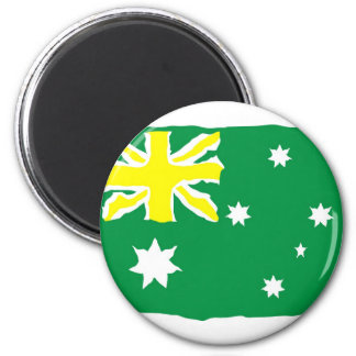 Aussie Flag Fridge Magnet