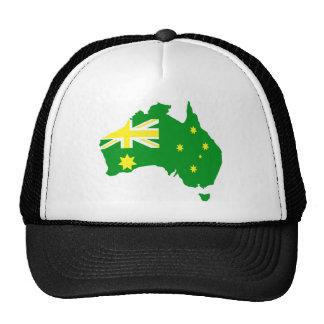 Aussie Flag Map Hat