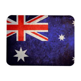 Aussie Flag Rectangular Magnets