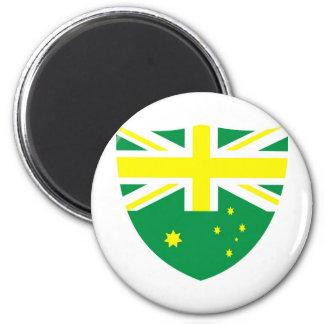 Aussie Flag Shield Magnets