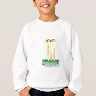 aussie golden cricket bails, tony fernandes sweatshirt