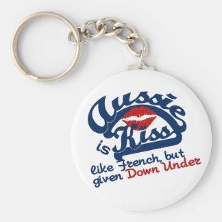 Aussie Kiss keychain