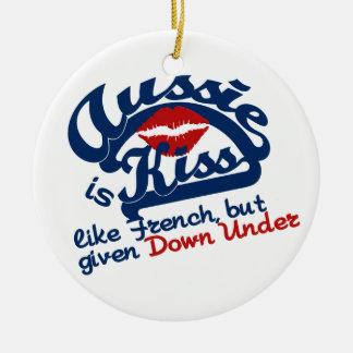 Aussie Kiss ornament