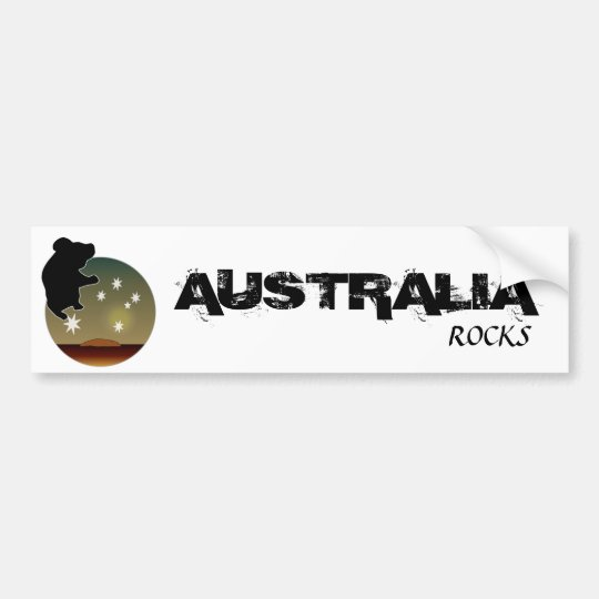 Aussie Koala Icon Bumper Sticker