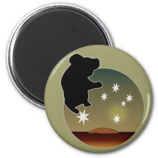 Aussie Koala Icon Magnet