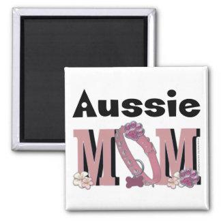 Aussie MOM Refrigerator Magnet