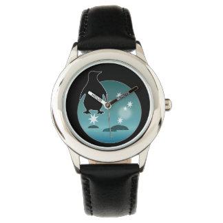 Aussie Penguin Icon Kids Stainless Steel Watch