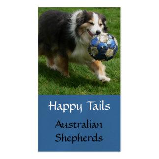 Aussie Puppy Breeding  Business Card