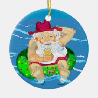 Aussie Santa Christmas Ornament